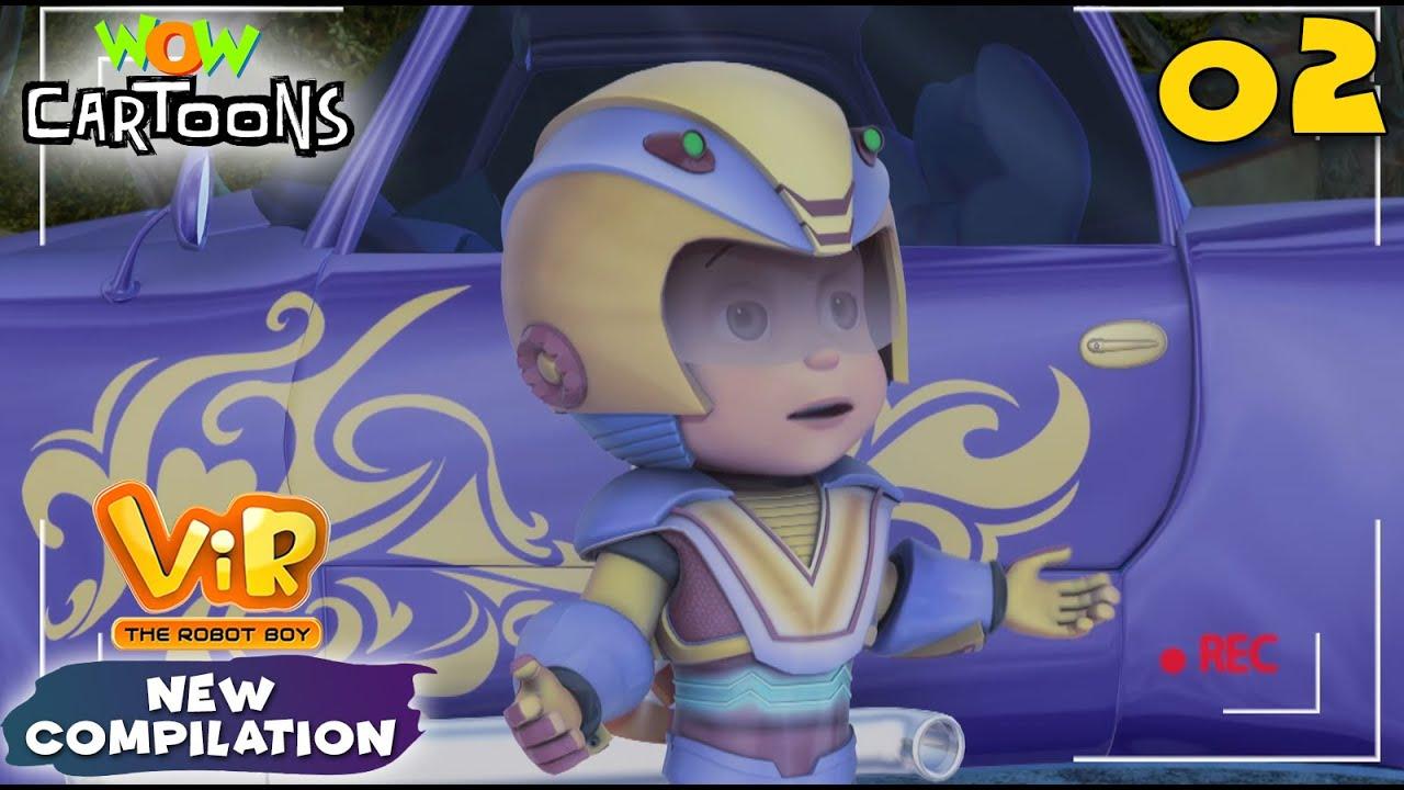 Vir the robot boy | Action Cartoon Video | New Compilation - 02| Kids Cartoons | Wow Cartoons