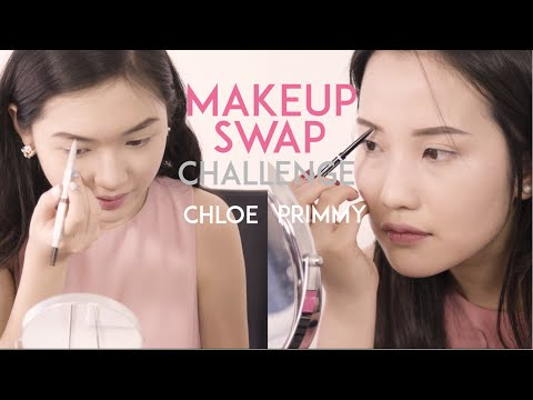 CHALLENGE: Đổi Đồ Trang Điểm - Makeup Swap with Primmy Truong | Chloe Nguyen