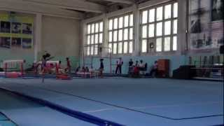 Leila Zharmenova, the future best gymnast of Kazakhstan :)