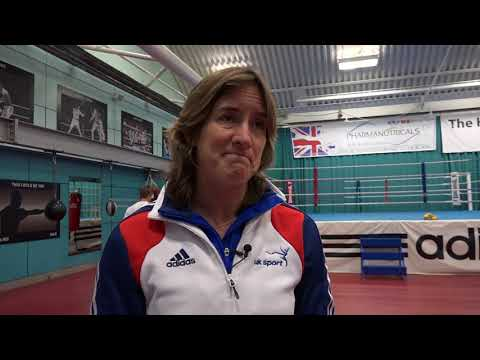 Katherine Grainger visits GB Boxing's world class performance programme