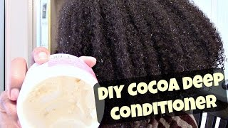 Moisture Overload   Cocoa Butter Deep Conditioner