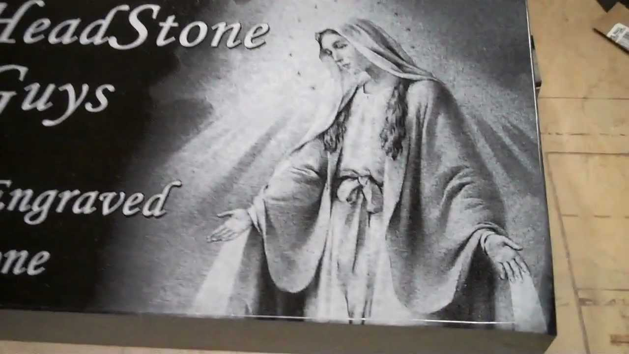 Laser Engraving the PERFECT Headstone