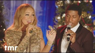 Gambar cover Mariah Carey Babyface Christmas Time Is In The Air Again from Merriest Christmas