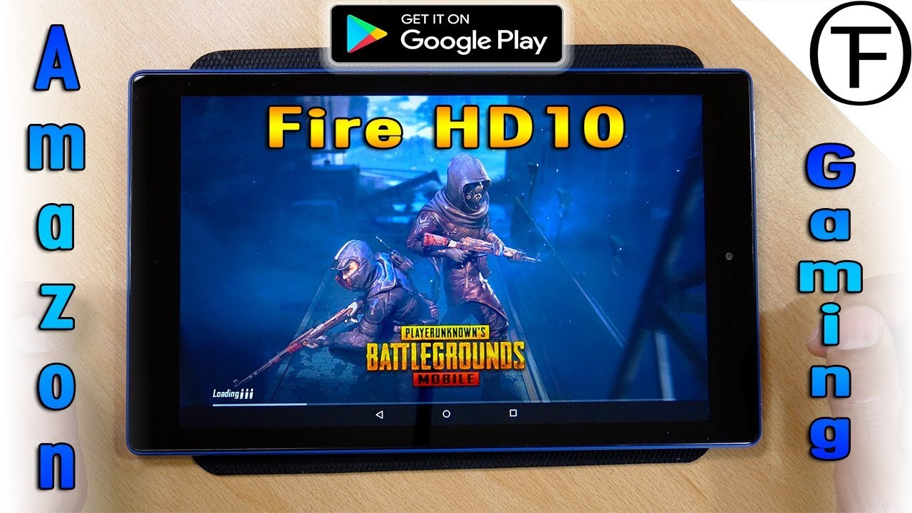 Gameplay On Amazon Fire Hd 10 Tablet From Google Play Store