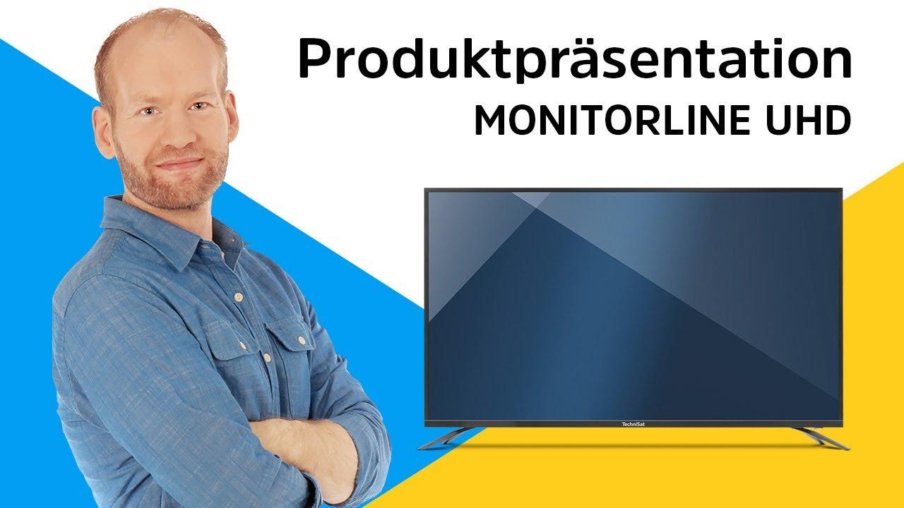 Video: MONITORLINE UHD | Der perfekte UHD-Monitor für Receiver und Zuspieler. | TechniSat