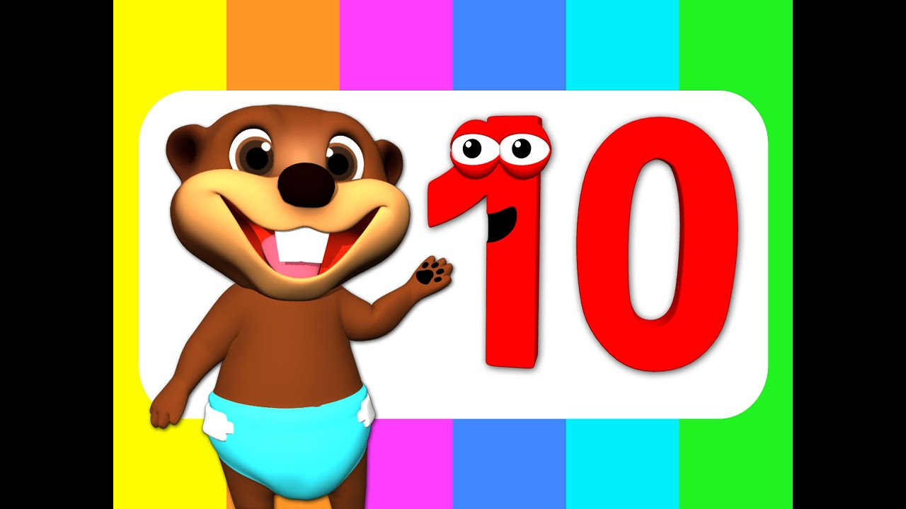 """Resultado de imagen de """"Counting to 10"""" Song in Four Languages! Kids Learn to Count 1 to 10. Numbers Song, Kids Songs"""