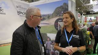 YMCA talk to Turf Matters about apprenticeships and working with Manchester United at SALTEX 2018