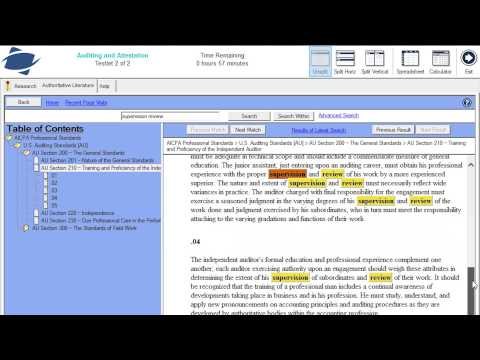 CPA Exam Tip: Research Task Format