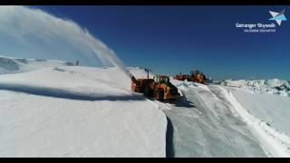 Geiranger Skywalk - Dalsnibba | removing snow from the road