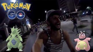 A Maior Caçada Noturna da Minha Vida! Praça XV Pokémon GO