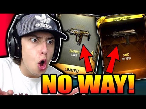 I'VE NEVER SEEN THIS!!! NEW BO3 DLC WEAPONS!! (BLACK OPS 3 LUCKIEST Supply Drops Ever!)