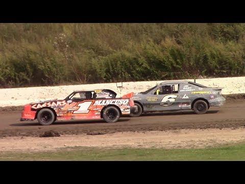 Mini Stock Heat One | Genesee Speedway | 9-17-17