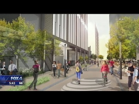 AT&T Downtown Dallas Renovations