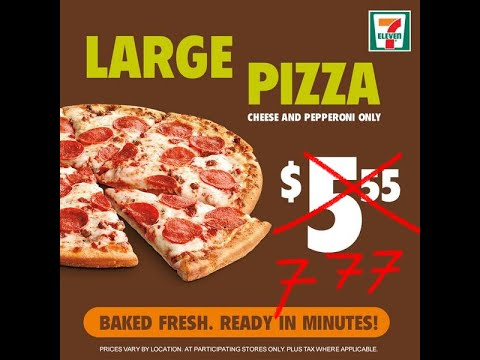 7 Eleven Japan And Building A Relationship With Your Pizza Guy Youtube