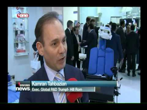 Hill-Rom-Kamran Tahbazian Interview with Dubai One TV