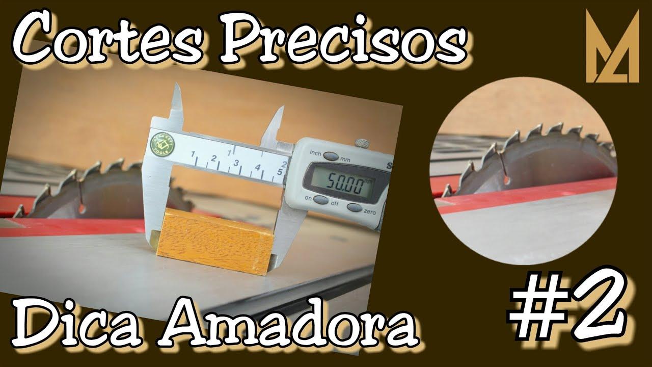 Cortes de precisão na Serra Circular de Bancada Dica Amadora #2  #302406 2048x1152