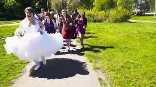 Зажигательный свадебный клип Инессы и Александра 25.04.2014г.