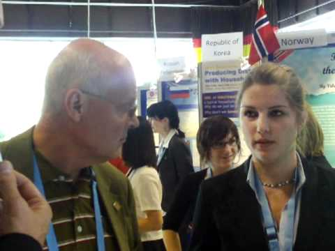Dutch teens in Stockholm Junior Water Prize 2010 competition: the first interview