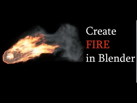 Tutorial: How to make Realistic Fire in Blender 2.6