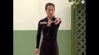 How to dance Elegantly - Metodo de Baile Flamenco - from DVD メルセデス・ルイス「美しく踊るための身体強化」