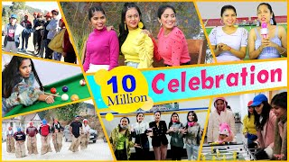 Our First VLOG Ever ... | 10 Million Celebrations | Anaysa