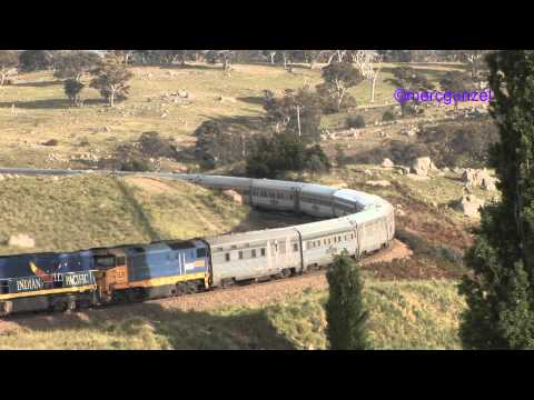 Diverted Indian Pacific at Cullerin