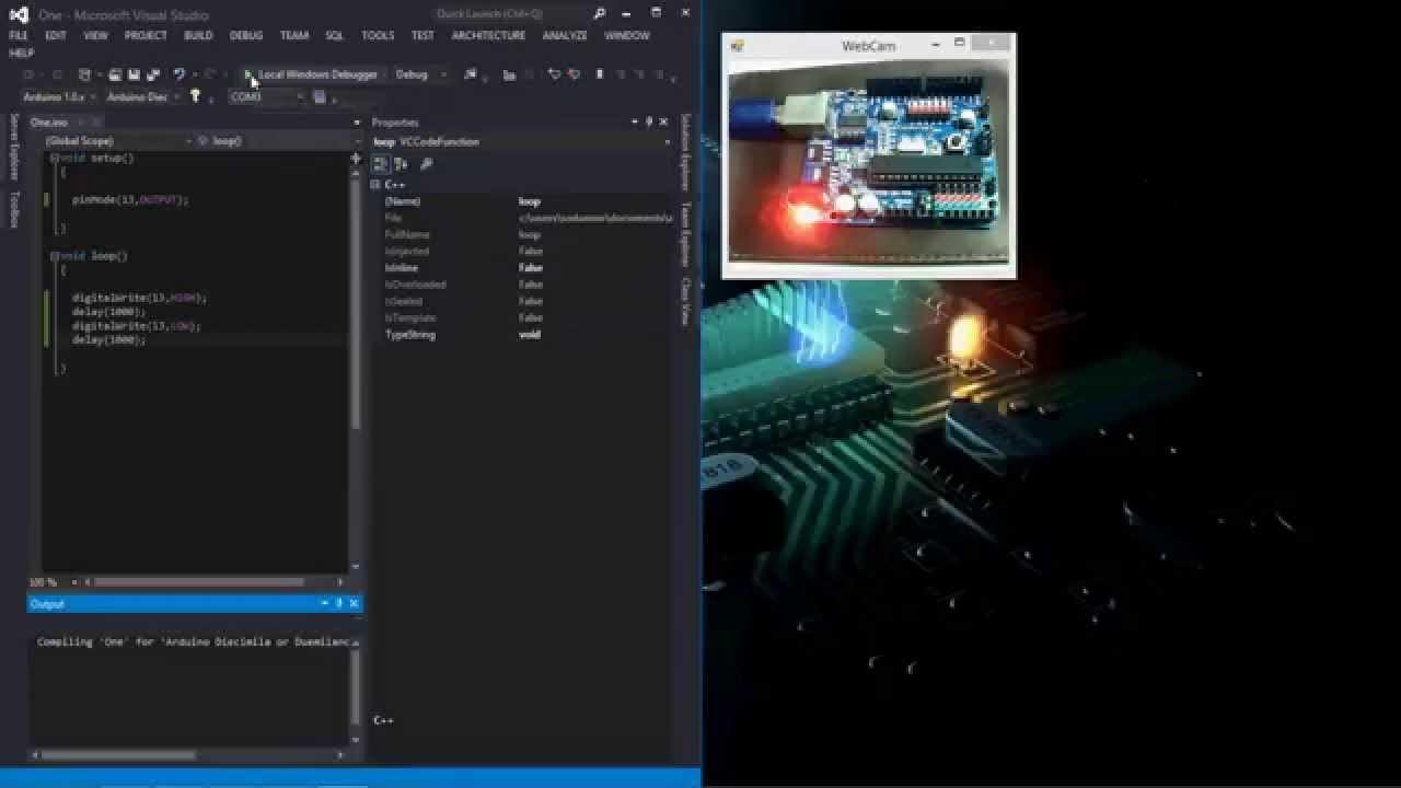 Arduino ide for visual studio youtube