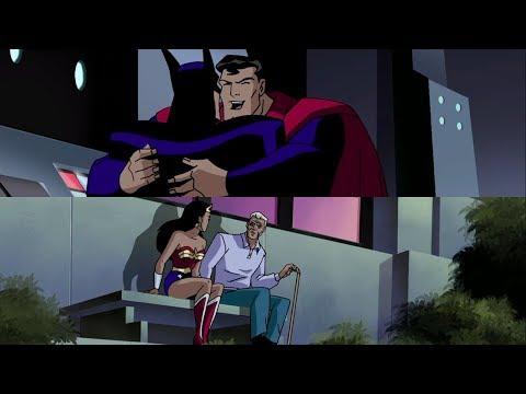 Superman com saudades do Batman | E Mulher-Maravilha visitando Steve Trevor