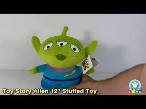 "Toy Story Alien 12"" Plush Stuffed Toy Review"