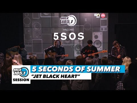 """5 Seconds of Summer """"Jet Black Heart"""" 