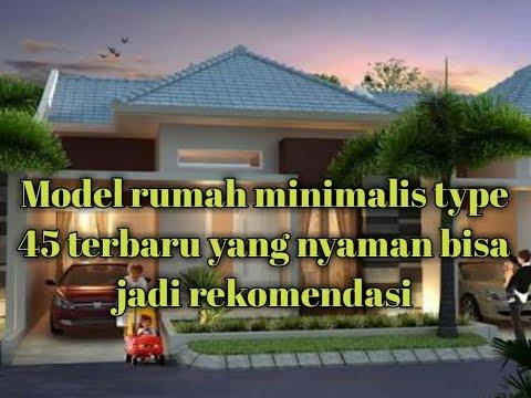 Desain Rumah Minimalis Type 45 Terbaru 2018 Ardian Saputra