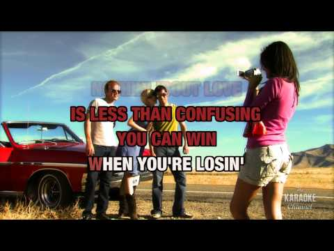 Nothin 'Bout Love Makes Sense in the style of LeAnn Rimes | Karaoke with Lyrics