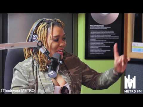 Lady Zamar on Metro FM #TheDriveOnMetroFM