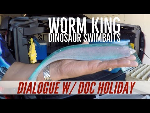 "Swimbait Legend Ralph ""Doc"" Holiday & The Worm King Dinosaur & Optimum Swimbaits"