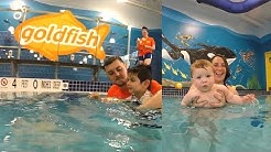 Goldfish Swimming School helps babies and toddlers learn to swim