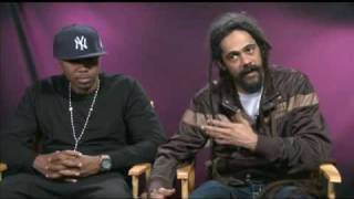 Nas and Damian Marley Exclusive Interview (August 2010)