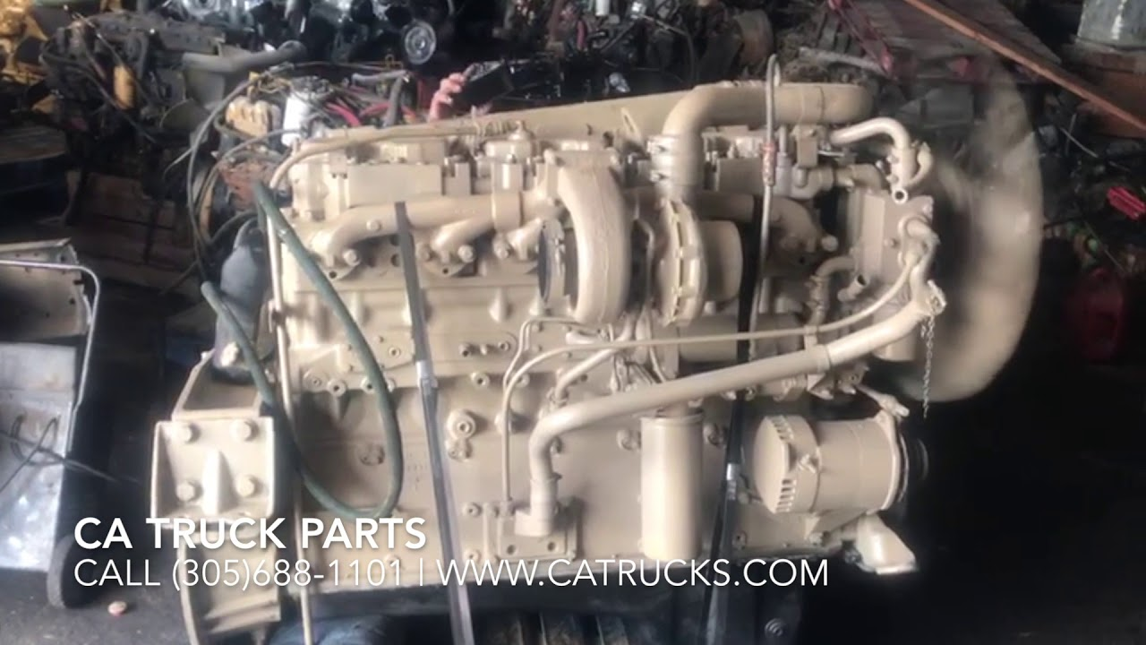 Cummins BIG CAM 4 Diesel Engine TEST RUN 350HP FOR SALE Serial # 11499563 |  CA TRUCK PARTS