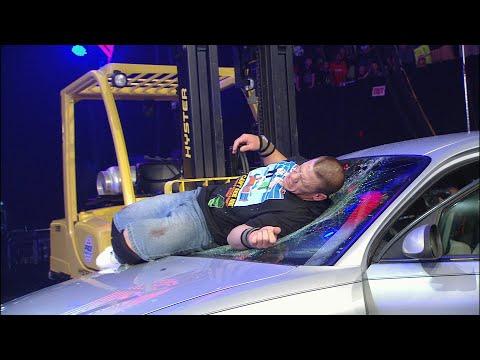 JBL tosses John Cena through a car windshield: WWE Great American Bash 2008