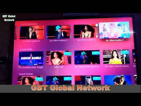 Freeview app on Apple TV