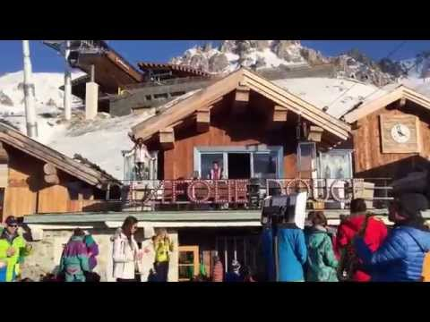 After-ski Party in The French Alps