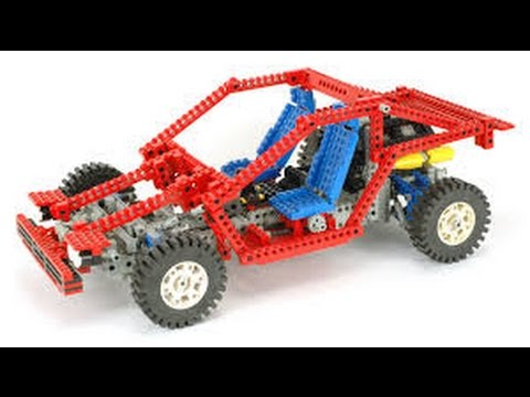 lego technic 8865 building instructions year 1988 youtube. Black Bedroom Furniture Sets. Home Design Ideas