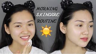 Dưỡng Da Ban Ngày - Morning Skincare Routine (Highend) | Chloe Nguyen