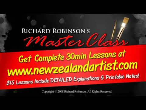 "MasterClass Painting Lesson - ""Mt. Manaia"""