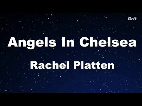 Angels In Chelsea - Rachel Platten Karaoke 【With Guide Melody】Instrumental