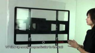 LOCTEK FULL MOTION LOW PROFILE LED TV MOUNT Bracket  PSW801SAT