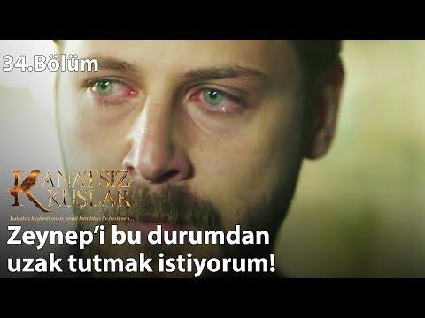 Zeynep'i korumaya çalışan Onur! - Kanatsız Kuşlar 34.Bölüm