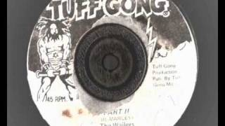 Bob Marley & the Wailers - part 2 Rat Race version - tuff gong records reggae