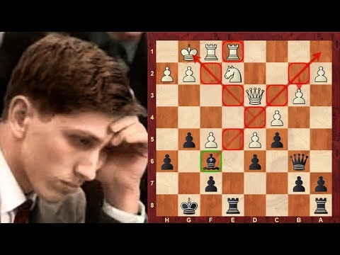 Amazing Chess Game: Bobby Fischer's accurate dark square play: Black vs Szabo  Leipzig (1960)