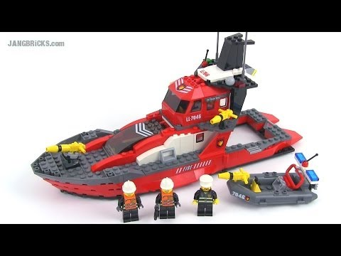 Lego world city 7046 fire command craft set review youtube for Lego world craft