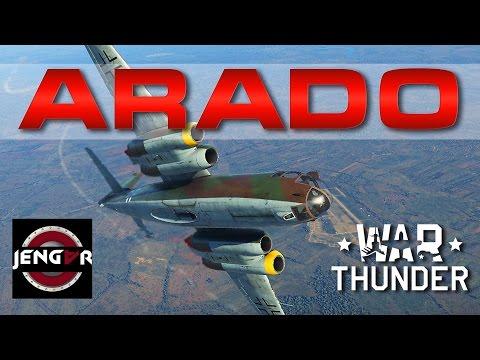 War Thunder Realistic: Arado 234 C-3 [Razorsharp]